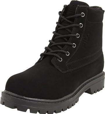 Fila Men's Underground Boot,Triple Black,6.5 M US