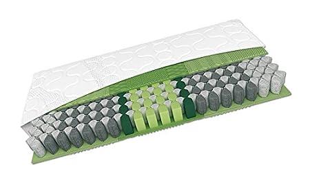 Schlaraffia Maxi 200 TFK plus 100x200 H2 7-Zonen Taschenfederkernmatratze