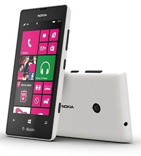 Nokia Lumia 521 T-Mobile Cell Phone 4G - White