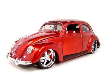 Buy 1951 Vw Volkswagen Bug Red 1:18 Scale Diecast Model