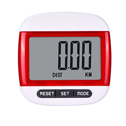 mudder-multi-function-pocket-pedometer-step-counter-with-belt-clip-red