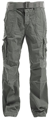 Brandit Royal Vintage Trousers Pantaloni tempo libero verde oliva M