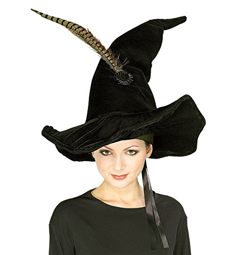 [McGonagall's Hat with Feather] (Professor Mcgonagall Costumes Adults)
