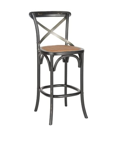 Safavieh Eleanor Barstool, Hickory