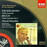 Great Recordings Of The Century - Mendelssohn, Bruch: Violin Concertos / Menuhin, Susskind, Kurtz