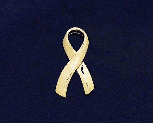 Large Gold Ribbon Pin (36 Pins)