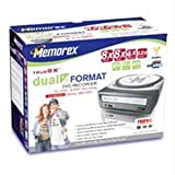Memorex 8x/8x/4x Dual-Format Plus/Minus DVD Drive