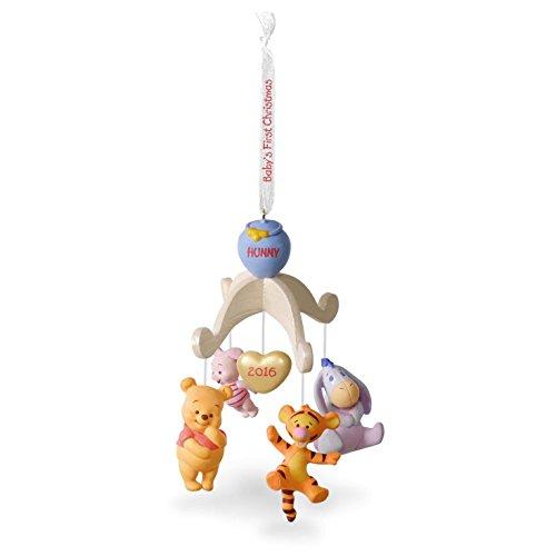"Hallmark Keepsake Christmas Ornament 2018 Year Dated: Hallmark Keepsake Baby's First 2016 ""Winnie The Pooh"