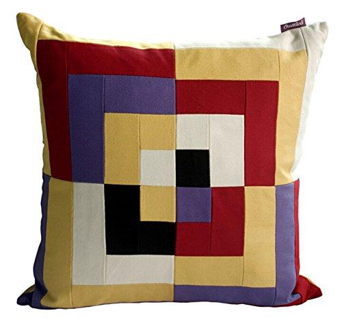Stripe Dekorative Kissen Dekorative Kissen Abdeckungen Baumwolle Kissen Gelb