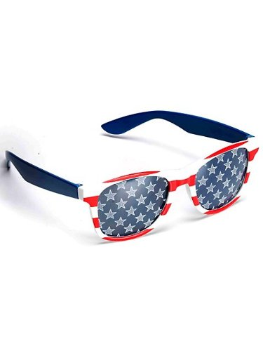 Patriotic Glasses Party Accessory