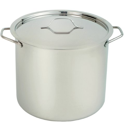 Paderno 1201-24-09 9-Liter Stock Pot With Cover, Classiic