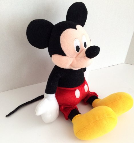 Mickey Mouse Plush Coin Talking Piggy Bank - 1
