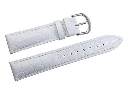 20mm-white-wristwatch-belts-crocodile-embossed-lightly-padded-genuine-italian-cowhide-leather