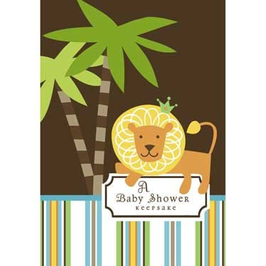 King Of The Jungle Keepsake Book front-584160