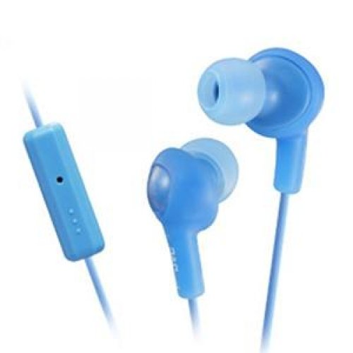 Jvc Gumy Plus Inner Ear Headphones With Remote & Mic (Hafr6A) -