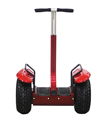 Chafon Es01 2014 New Cross-Country Type Personal Transporter-2 Wheels Self Balancing Electric Standing Up Scooter/Motorcycle/Ebike-Outdoor Sports Kids Adult Transporter With Led Light And Power Display Perfectly Suitable For Night Riding Amateur (Red)