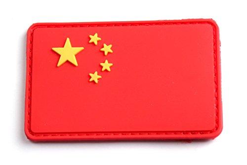5枚セット! ベルクロ付き PVC ワッペン パッチ 徽章 サバゲー  CHINA   L934