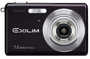 Casio Exilim EX-Z70 7.2MP Digital Camera with 3x Anti Shake Optical Zoom (Black)