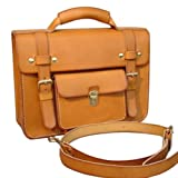 手作り鞄工房ヘルツ[HERZ]2WAYビジネスバッグB16(BC16)(キャメル)