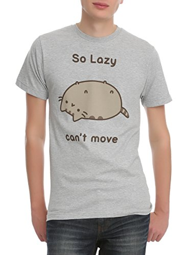 Pusheen So Lazy, Can't Move T-Shirt