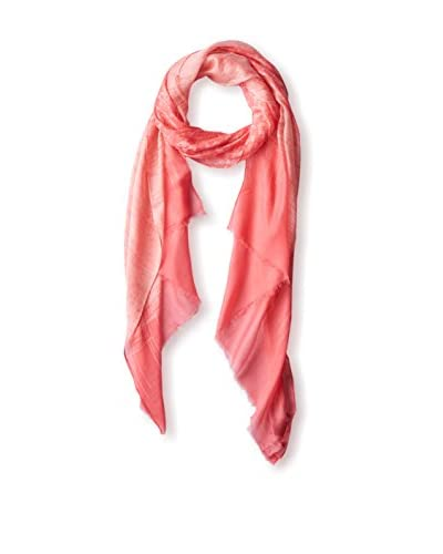 """Elie Tahari Women's """"Scratched China"""" Printed Scarf, Pink"""