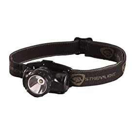 Streamlight 61400 Enduro Impact Resistant Headlamp, Elastic Strap, Black