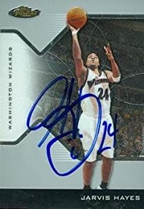 Jarvis Hayes Autographed Hand Signed Basketball Card (Washington Wizards) 2005 Topps... by Hall+of+Fame+Memorabilia