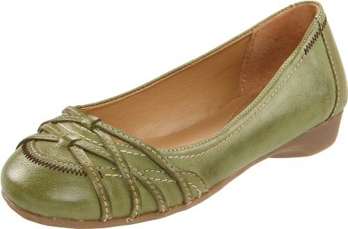 Naturalizer Women's Inez Flat,Green,10 M US