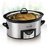 Crock-Pot 7-quart Programmable Slow Cooker (Model SCCPVC709-S) Includes: Crock-Pot� Recipe Book & 16-ounce Little Dipper