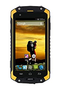 Aokvic® V9 IP68 Waterproof Dustproof Shockproof Unlocked Rugged Sim Free Smartphone Android 4.4 Quad Core 4.5 Inch IPS QHD 3G GSM Dual SIM GPS AGPS Outdoor Hiking Unlocked Smartphone