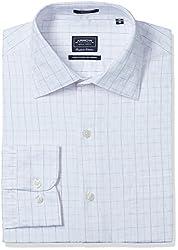 Arrow Men's Formal Shirt (8907378505484_ASSF0064_44_Light Pink)
