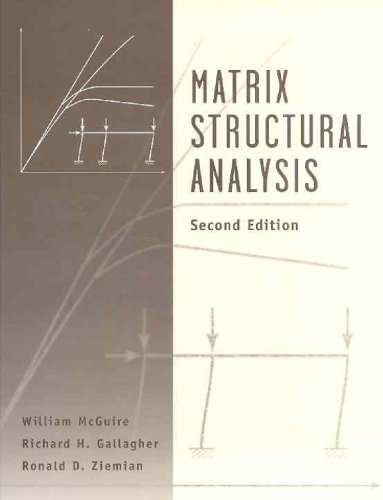 Matrix Structural Analysis, With MASTAN2