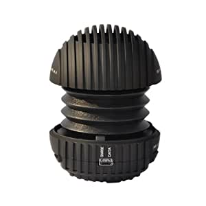 Sonpre SD Haut-parleur Rechargeable Samurai Max-C Pop-up pour Smartphones/Ordinateurs/Tablettes/iPods/MP3s - Noir