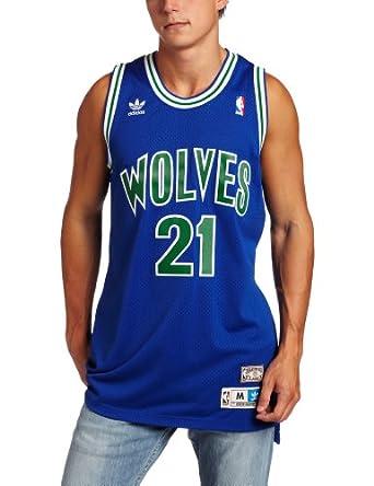 NBA Minnesota Timberwolves Kevin Garnett Retired Player Swingman Jersey by adidas