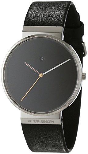 jacob-jensen-herren-reloj-analogico-de-pulsera-de-cuarzo-cuero-dimension-series-item-no-842