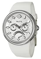 Philip Stein Women's F43S-W-W Quartz Stainless Steel White Dial Watch by Philip Stein