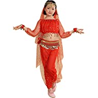 Astage Girl`S Belly Dance Costumes,Lo…
