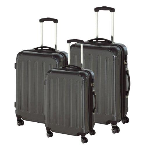 valise trolley polycarbonate xxl 70 cm noir. Black Bedroom Furniture Sets. Home Design Ideas