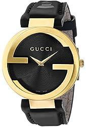 Gucci Unisex YA133312 Interlocking GRAMMY Special Edition Black Watch