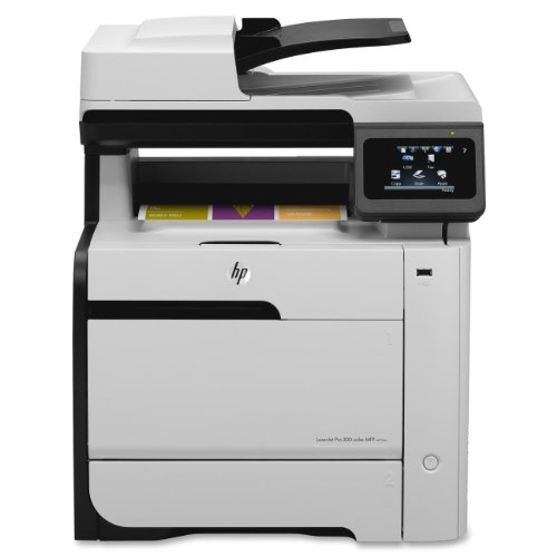 Laserjet Pro 300 Color Mfp M375Nw Wireless Laser Printer, Copy/Fax/Print/Scan