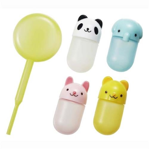 4 kawaii animal mini sauce containers for Bento Box (Sauce Pipette compare prices)