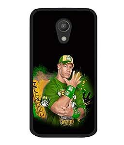 printtech WWE John Cena Back Case Cover for Motorola Moto G2 X1068 , Motorola Moto G (2nd Gen)