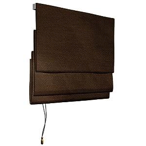 victoria m raffrollo 80 x 175 cm farbe braun k che haushalt. Black Bedroom Furniture Sets. Home Design Ideas