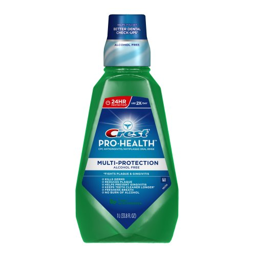 Crest Pro-health Multi-Protection Rinse, Cool Wintergreen, 33.8 Fluid Ounce (037000051015)