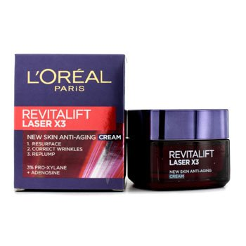 Loreal paris Revitalift Laser X3 New skin anti aging Day Cream ...