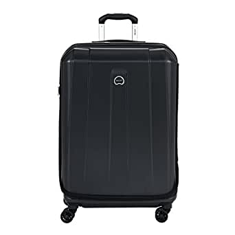 """Delsey Helium Shadow 2.0 26"""" Expandable Spinner Suiter Trolley (Black)"""