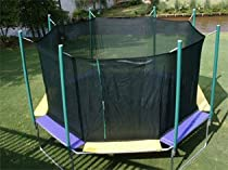 Magic Cages - 16 ft. Octagon Trampoline in Multicolor
