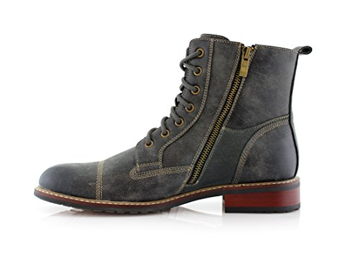 Ferro Aldo Mfa-808561 Mens Lace Up Military Combat Work Desert Ankle Boot 3