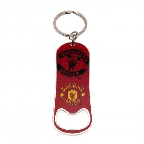 Official Manchester United Keychain Bottle Opener     United