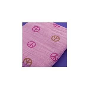 Bambino Land Peace Girl 1-pack Swaddling Blanket